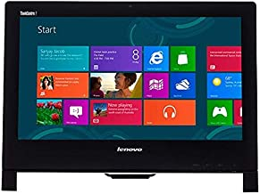 "Lenovo ThinkCentre Edge 92Z 21.5"" FHD Anti-Glare LED IPS Touchscreen All-in-One (AIO) Desktop, Intel Core i5-3470S, 8GB RAM, 500GB HDD, Bluetooth, DVD, HDMI, Webcam, Windows 7 Professional (Renewed)"