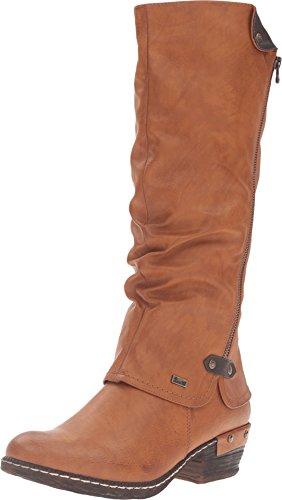 Preisvergleich Produktbild Rieker Damen Bernadette 55 Stiefel,  Braun (Cayenne / Schoko),  36 / 36.5 EU