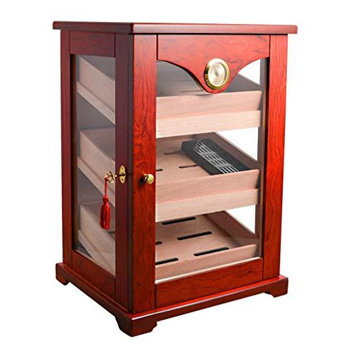BJL-Cigar Zigarettenschrank – Zigarettenbox aus Zedernholz, konstante Luftfeuchtigkeit, hohe Kapazität von OYO natur