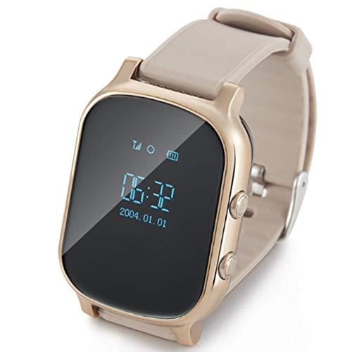 FRTUI T58 Reloj del TeléFono de los NiiOs Reloj Inteligente de Posicionamiento GPS Rastreador de Reloj Inteligente de Socorro de Emergencia Reloj Infantil SOS