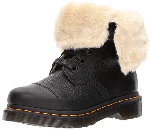 Dr. Martens Women's Aimilita FL Ankle Boot, Black, 8 Medium UK (10 US)