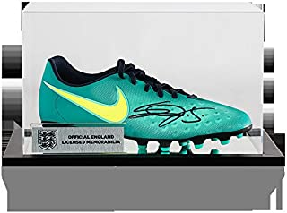 54a3e1fef639f Eric Dier Official England Autographed Signed Nike Magista Boot In Acrylic  Case - Certified Authentic Soccer
