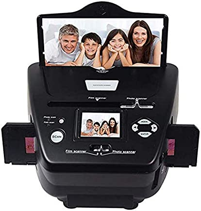 $99 » DIGITNOW Photo Scanner 35mm/135slides&Negatives Film Scanner Photo, Name Card, Slides and Negatives to Digital Converter for Saving Films to Digital Files in 4GB SD Card(Included) with Photo Editing