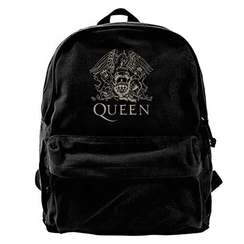 Zaino in tela Queen Band Logo Zaino Palestra Escursionismo Laptop Borsa a Tracolla Daypack Per Uomini Donne