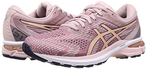 ASICS Damen Gt-2000 8 Running Shoe, Watershed Rose/Rose Gold, 39 EU - 5