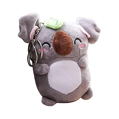 Mysracing Bolsa Colgante Adorable Mochila Koala Peluche Colgante Creativo Multifuncional