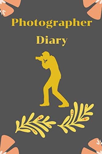 Photographer Diary: Photograph Writing Journal Notebook Diary   Composition Book