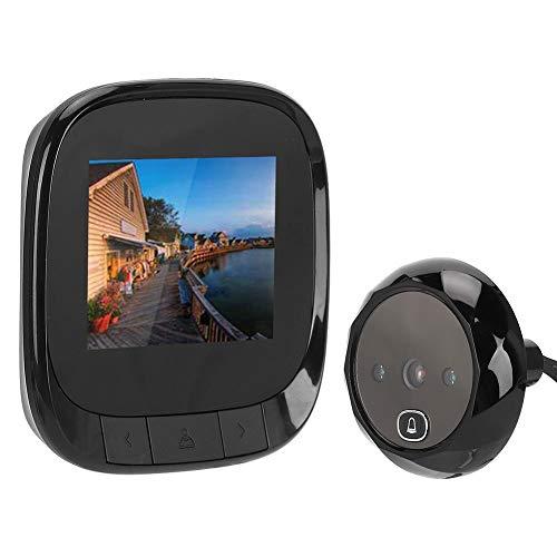 Videodeurbel, 2,4 inch TFT HD elektronische digitale camera met 135 graden groothoeklens, Cat Eye deurbel voor huisbeveiliging
