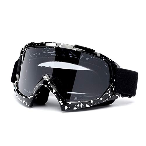 AFANG Gafas Moto, Motocross Motocicletas Gafas Cascos Gafas Nieve Prueba Viento, Gafas...