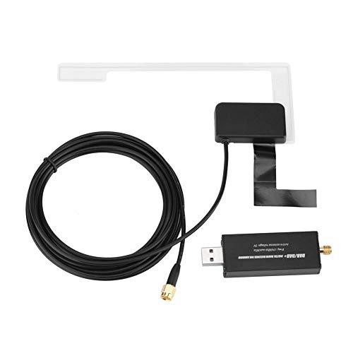 Thincol DAB Car Digital Radio Receiver,Mini USB Car Radio Aerial Antenna,Digital Radio Antenna Receiver for Car System