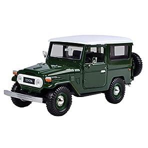 [トヨタ]Toyota FJ40 Green 1/24 by Motormax 79323 79323grn [並行輸入品]