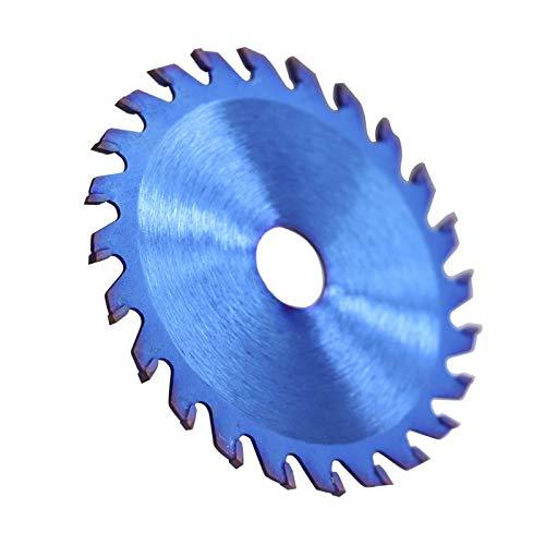 GFHDGTH zaagblad 85 x 10/15 mm 24/30/36 tanden hout TCT, nano, blauw gecoat, zaagblad met hardmetalen punt, 1 pc, 85x10x24T
