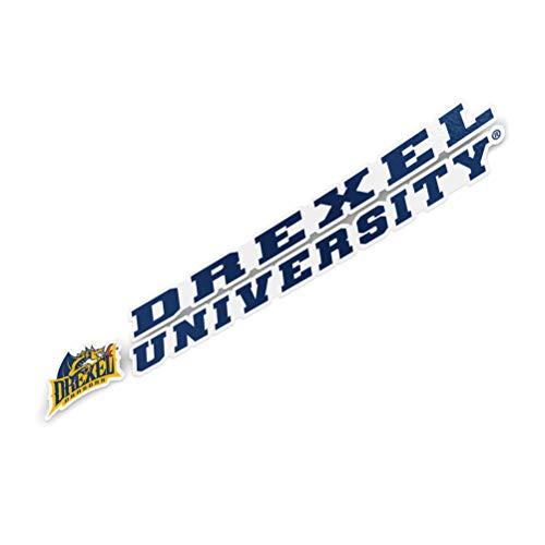 Drexel University Dragons Name Logo Vinyl Decal Laptop Water Bottle Car Scrapbook (8 Inch Sticker)
