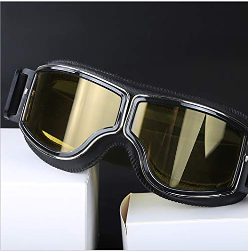 Outgeek Motorcycle Windproof Goggles Outdoor Cycling Goggles Protective Dustproof Riding Goggles