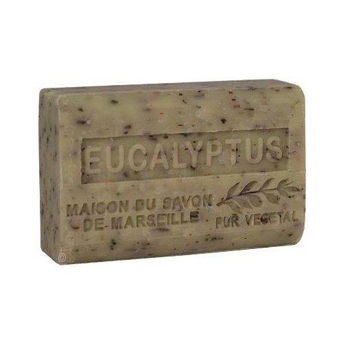 Zeep eucalyptus met biologische sheaboter, 125 g.