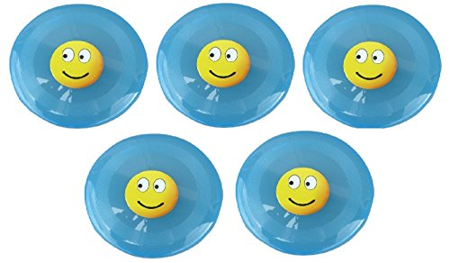 5er Set 5 pcs jouets Frisbee lumineux jardin été plage été Enfants Frisbee lumineux B48
