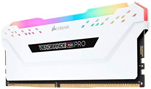 Corsair Vengeance RGB Pro - Kit estético de iluminación LED RGB (DDR4, sin la Memoria incorporada) Blanco (CMWLEKIT2W) 3