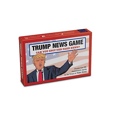 Bubblegum Stuff – Trump News Game | Guess The Fake News Trump Zitat Comedy Kartenspiel | geeignet für Familie, Kinder, Jugendliche und Erwachsene