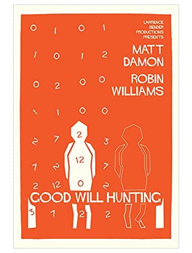 Nirvan Good Will Hunting Matt Damon Robin Williams Drama Film (1) Poster 24x36 Inch