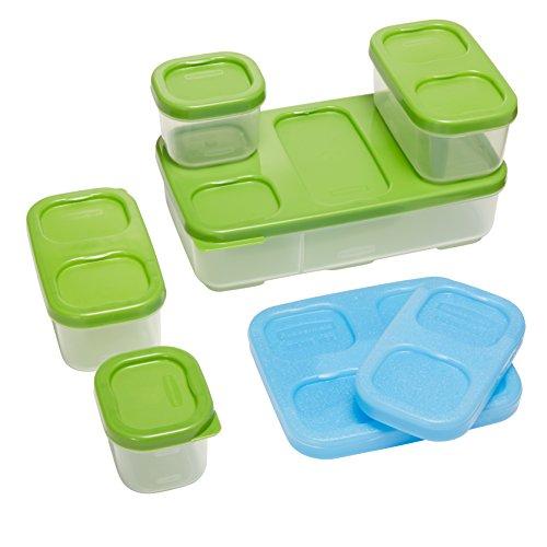 Rubbermaid LunchBlox Entrée Kit, Green