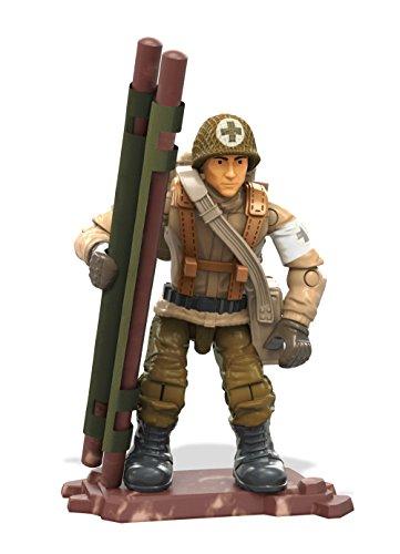 Mattel Mega Construx Call of Duty WWII Combat Medic Figure