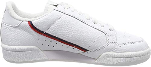 adidas Herren Continental Fitnessschuhe, Weiß (Ftwbla/Escarl/Maruni 000), 42 2/3 EU