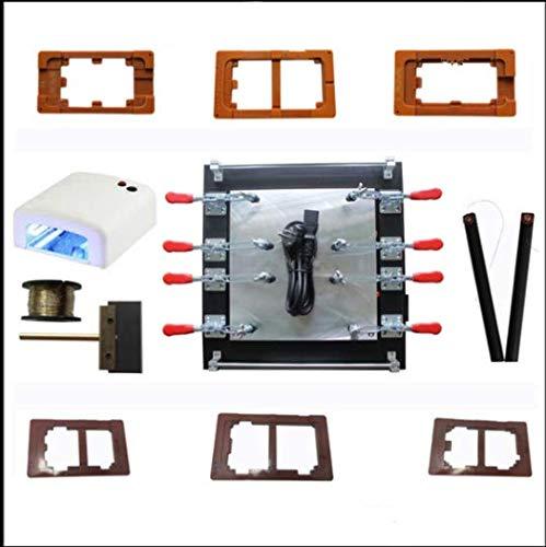 Gowe 27,9cm für iPad Glas LCD-Separator Split Screen Reparatur Maschine für Samsung Tablet PC + UV-Lampe + Formen