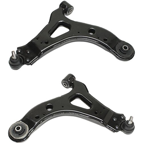 Detroit Axle Front Lower Left & Right Control Arm & Ball Joint Assembly for 2005 2006 2007 2008 Saturn Relay Chevrolet Uplander Buick Terraza