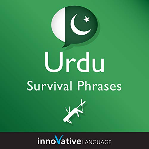 Learn Urdu - Urdu Survival Phrases, Volume 2 audiobook cover art