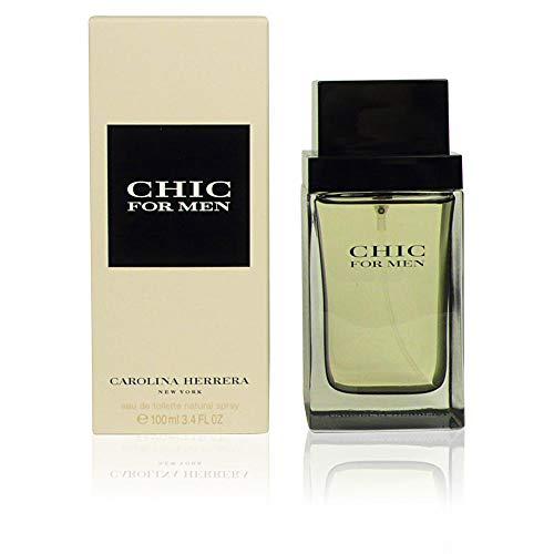 Carolina Herrera Chic Homme / men, Eau de Toilette, Vaporisateur / Spray 60 ml, 1er Pack (1 x 60 ml)
