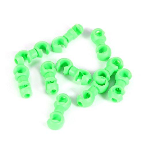 eecoo kabelbinders/kabelgespen voor fiets remkabel schakelkabel kabel - 10 stuks/verpakking S-vorm