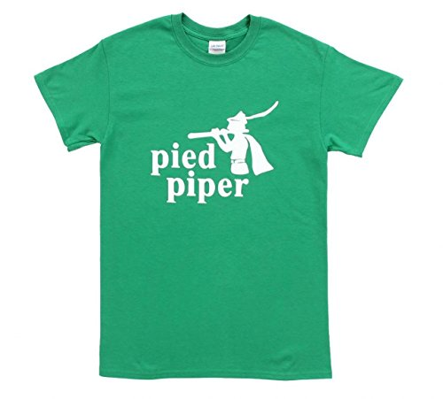 Silicon Valley Pied Piper Green T-Shirt (Adult M)