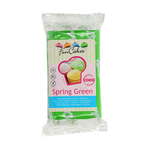FunCakes Rolfondant-Spring Green 1er Pack(1 x 250g)