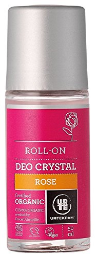 Urtekram Rose Cristal rouler sur déodorant 50ml x 1
