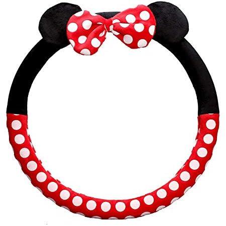 Mickey Mouse 25752 Minnie Mouse Lenkradhülle Für Lenkräder Mit Einem Durchmesser Von 37 Bis 39 Cm Auto