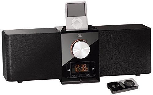 Logitech Pure-Fi Express Plus Lautsprechersystem für iPod/iPhone schwarz