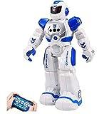 Sarria Store Robot de Juguete por Control Remoto. Interactivo. Teledirigido. Baila, se Detiene aproximando la Mano. por radiocontrol. Regalo Kit de Robot para niños y niñas