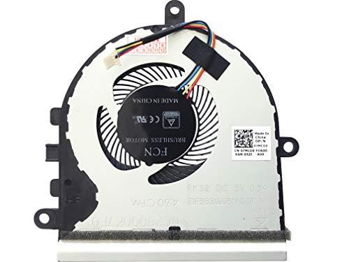 (Version 2) Lüfter Kühler Fan Cooler kompatibel für Dell Inspiron 15-5575, 15-5570, Dell P/N: 07MCD0, P/N: DC28000K7F0, Model: DFS531005MC0T-FK39
