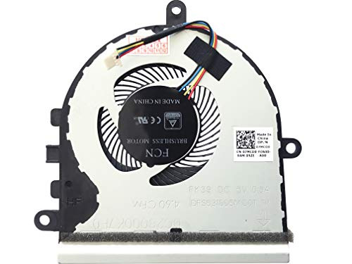 (Version 2) Fan Cooler Compatible with Dell Inspiron 15-5575, 15-5570, Dell P/N: 07MCD0, P/N: DC28000K7F0, Model: DFS531005MC0T-FK39