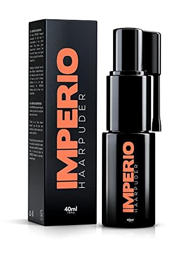 IMPERIO Haarpuder mit matt Effekt für Frauen & Männer | Volumen Puder zum stylen und fixieren in Premium Friseur Qualität | Matt-Look ohne zu verkleben (40ml)
