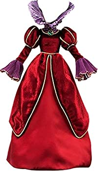 Bubucos Cosplay Costume for Cinderella Lady Tremaine red