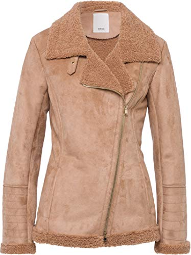 BRAX Damen Style Oslo Jacke, Caramel, 44