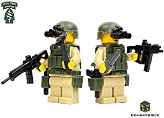 US Army Special Forces Commandos 2 men fire team- Custom Army Builder Minifigures lot