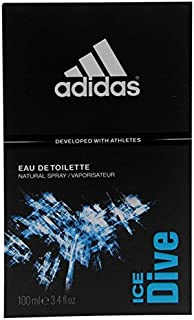 Adidas Ice Dive Eau De Toilette Spray, 100ml/3.4Oz