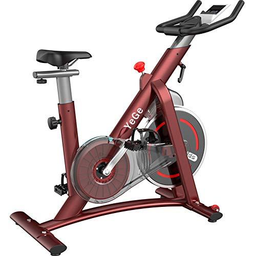 FEIFEI Bicicletas Estáticas, Bicicletas De Interior, Sistemas Tradicionales Con Correas Ajustables Y Resistencia Se Pueden Entrenar De Forma Segura En El Gimnasio, Con Un Peso Máximo De 150