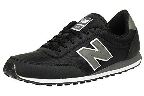 New Balance U410CC, Zapatillas Unisex, Negro (Carbon Grey), 41.5 EU