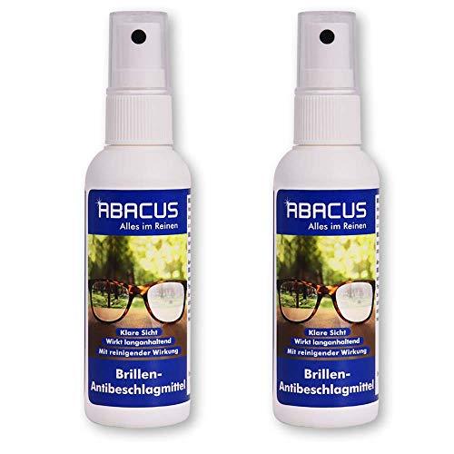 ABACUS 2X 75 ml Brillen-Antibeschlagmittel (7655.2)