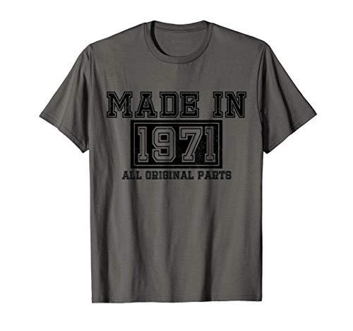 50 Cumpleaños Regalo Vintage 1971 Camiseta