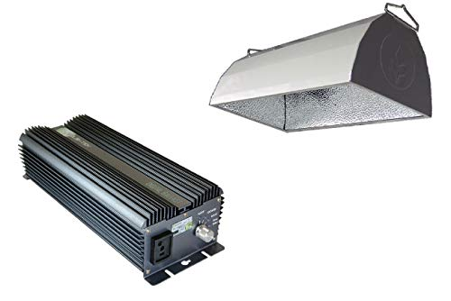 SolisTek 600W Ballast & Reflector Combo - 120/240V (No Lamp)