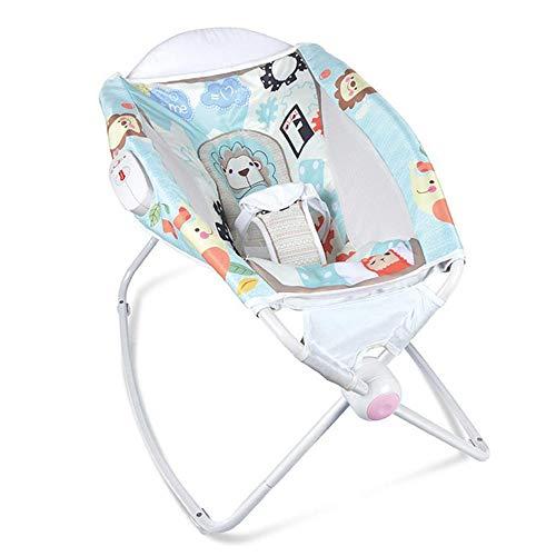 WY-Tong silla bebe Silla para bebes cuna, multifuncional agitación silla columpio hamaca...